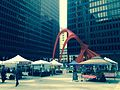 Calder's Flamingo, public art installation, Chicago, IL.jpg