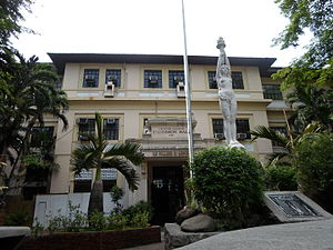 University of the Philippines College of Medicine - The Calderon Hall is currently the main building of UP College of Medicine students.