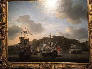 A Naval Engagement, 1659