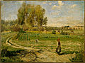 Camille Pissarro (formely attributed to) - Giverny - Google Art Project.jpg