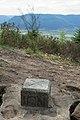 Camp celtique de la Bure - borne IGN (closeup).jpg