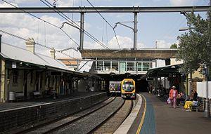 Bankstown Line - Image: Campsie station