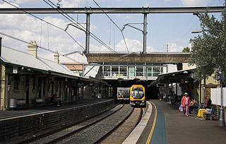 Bankstown Line rail service in Sydney, New South Wales, Australia