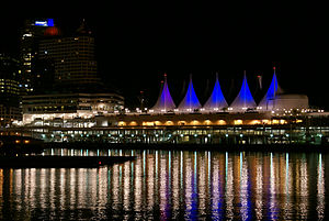 Canada Place - Canada Place, night view