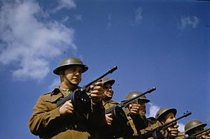 Canadian Corps (World War II) - Canadian troops in England, 1942