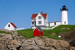 Cape Neddick Light - Cape Neddick Lighthouse