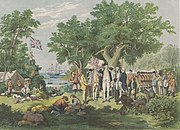 Captain Cook at Possession Island