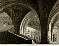 Carceri in una Fortezza, bozzetto di Antonio Basoli per La rosa bianca e la rosa rossa (1819) - Archivio Storico Ricordi ICON011813.jpg
