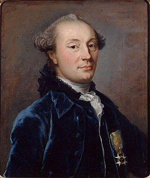 Jacob Magnus Sprengtporten - Portrait by Carl Friedrich Bender