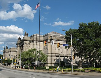 Carnegie Museums of Pittsburgh - The Carnegie Institute serves as the headquarters of the Carnegie Museums