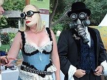 Steampunk-Paar Kostümierung
