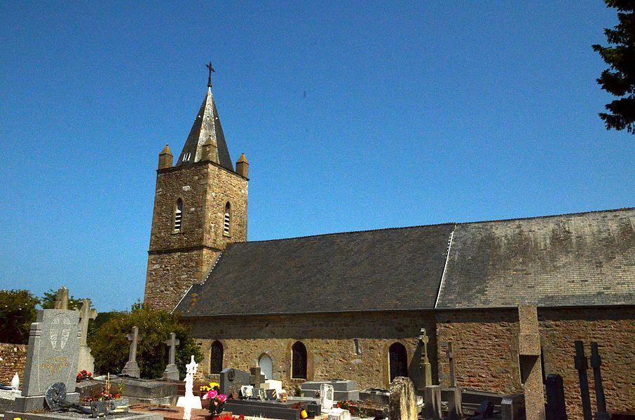 Église Saint-Malo de Carneville.