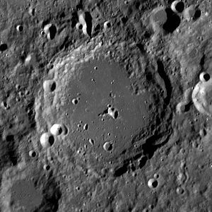 Carnot (crater) - Image: Carnot crater LROC