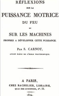 unique book of the French physician Sadi Carnot