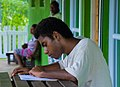 Caroline's photography class, Wan Smol Bag Youth Centre, Port Vila, Vanuatu, 15 April 2008 (2419822313).jpg