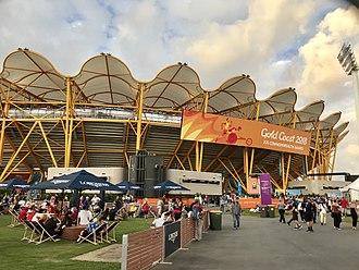 2018 Commonwealth Games - Carrara Stadium hosted the ceremonies and the athletics