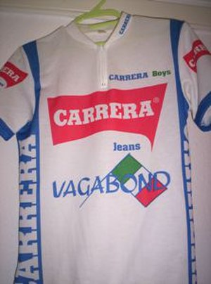 Carrera (cycling team) - The 1987 Carrera Jeans–Vagabond jersey