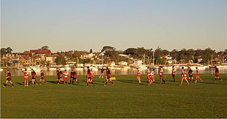 Carss Park, New South Wales -  Rugby League match at Carss Bush Park
