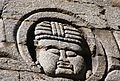 Carvings of ancient gods and kings on the walls of the temples.JPG