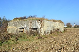 Commission for Organising the Fortified Regions - Casemate 593 Bantzenheim sud