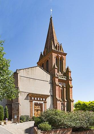 Castelnau-d'Estrétefonds - Image: Castelnau d'Estrétefonds Eglise
