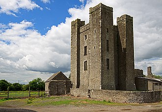Dunsoghly Castle - Image: Castles of Leinster Dunsoghly, Co. Dublin (geograph 2496350)