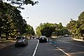 Casurina Avenue and Queens Way Junction - Hospital Road - Kolkata 2013-04-10 7730.JPG
