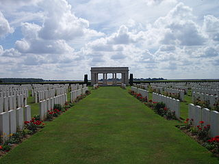 Caterpillar Valley Cemetery cemetery located in Somme, in France