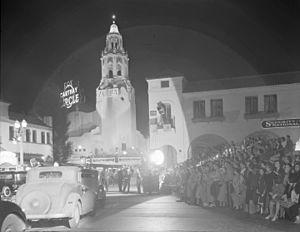 Carleton Winslow - Carthay Circle Theater, Los Angeles, 1926