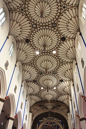 William Burn - Ceiling of St Johns, Princes Street, Edinburgh