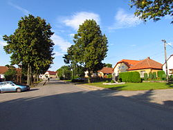 Center of Kouty, Třebíč District.JPG