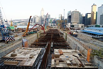 Central–Wan Chai Bypass - Image: Central Wan Chai Bypass (1)