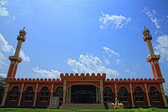 Savar Upazila - Central Mosque at Jahangir Nagar University, Savar