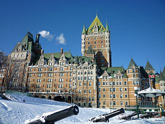 Canadian Pacific Hotels - Château Frontenac in Quebec City