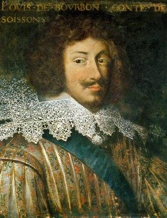 Louis, Count of Soissons - Contemporary portrait of Louis de Bourbon