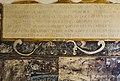 Château de Montaigne - tower - interior - inscription of 1571 (26893836296).jpg