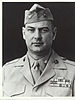 black and white headshot of Justice Chambers in his military uniform