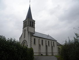 The church in Champignolles