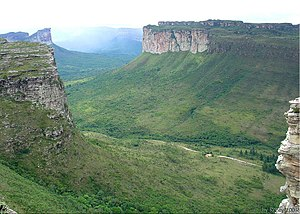 Chapada Diamantina National Park - Escarpments in the park
