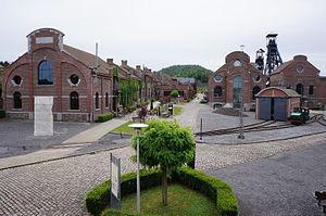 Major Mining Sites of Wallonia - Image: Charbonnage du Bois du Cazier 02