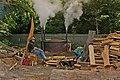 Charcoal making - geograph.org.uk - 1750400.jpg