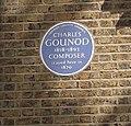 Charles Gounod Blue Plaque - geograph.org.uk - 2598517.jpg