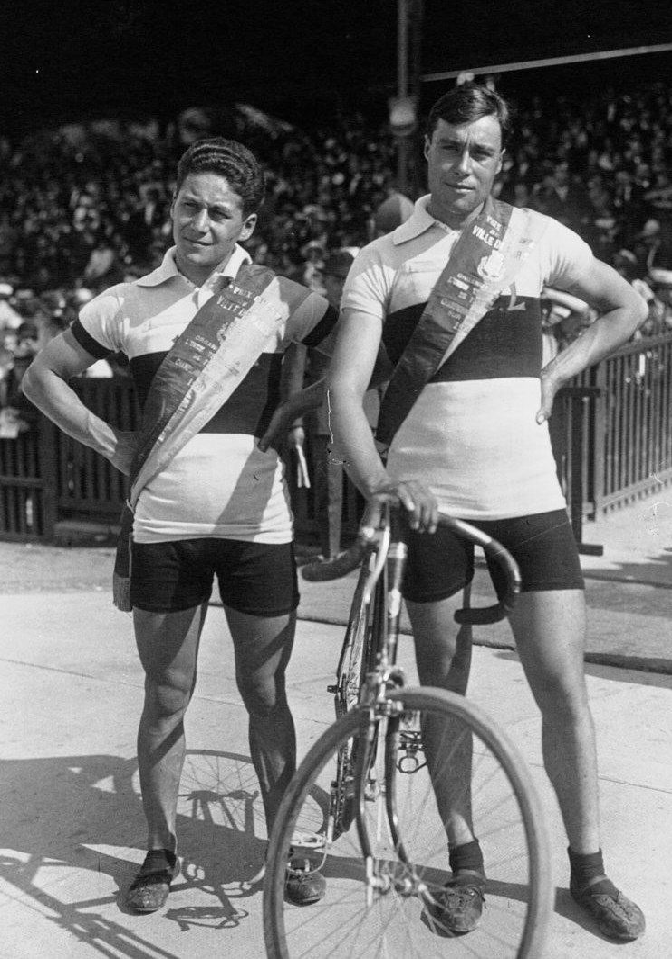 Charles Guyot and Fernand Canteloube 1921