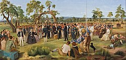 Charles Hill: The Proclamation of South Australia 1836