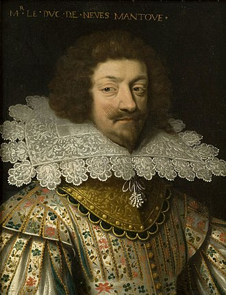 Order of the Annunciation (France) - Charles I, Duke of Mantua, father of Queen of Poland Marie Louise Gonzaga de Nevers