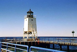 National Register of Historic Places listings in Charlevoix County, Michigan - Image: Charlevoix Light