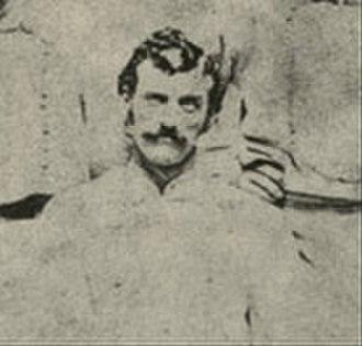 Charlie Mills (baseball) - Image: Charlie Mills 1870