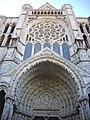 Chartres - cathédrale, transept nord (05).jpg