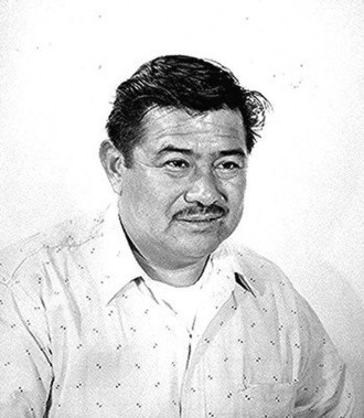 Chemehuevi - McKinley Fisher, a Chemehuevi man employed by the Indian Service at Colorado Agency, Arizona in 1957.
