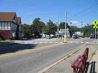 Warren County, New York - Hamlet of Chestertown in Chester, typical for the area.